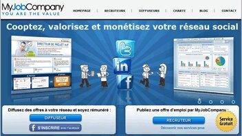 MyJobCompany lève 650000 € - D.R.