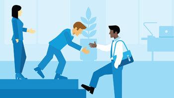Quatre conseils pour réussir l'intégration d'un agent immobilier junior - © D.R.