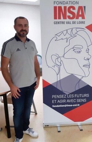 Julien Olivier est délégué général de la fondation Insa