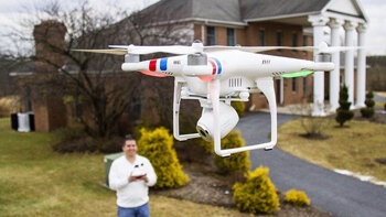 Explorimmo réserve un bel avenir aux drones - © D.R.