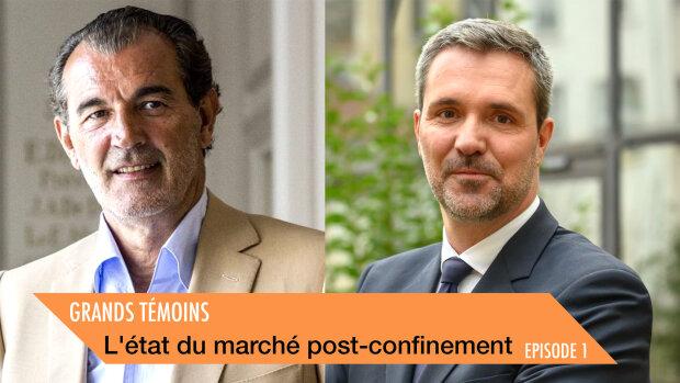 Laurent Vimont, président de Century 21 et Yann Jéhanno, président de Laforêt - © D.R.