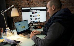 Tom Weil est responsable de la plateforme numérique d'ArtFX - © Marine Dessaux