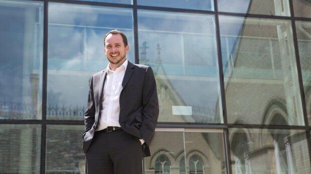 Chris Crabot travaille à Nottingham TrentUniversity depuis 2012. - © D.R.