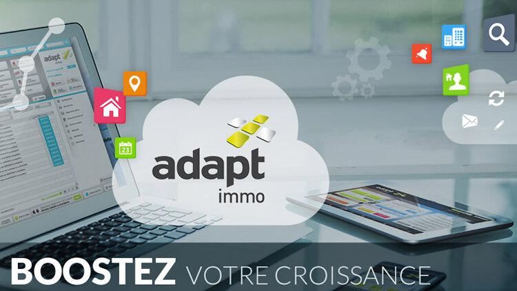 Adapt immo : un logiciel générateur de business - D.R.