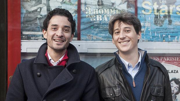 Matthieu Rokotobe et Timothée Maucour, cofondateurs de Myloby - © D.R.