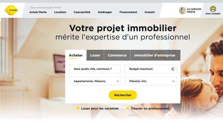 Site internet de la Fnaim -