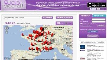 """JobAroundMe: le jobboard 100% mobile lance son application """"carrière"""" en marque bl - D.R."""