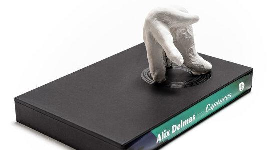 Monographie d'Alexis Delmas aux Éditions Loco, un des lauréats 2017 de la bourse de l'ADAGP. - © D.R.