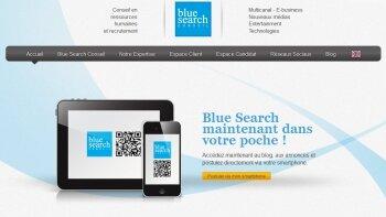 Blue Search adopte le QR code - D.R.