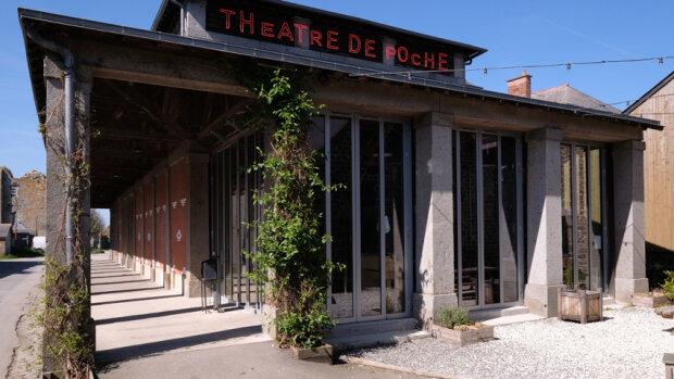 Le Théâtre de Poche peut accueillir entre 100 et 300 personnes selon la configuration. - © Marc Knecht