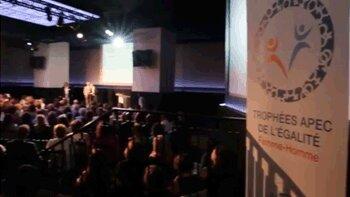 Vidéo - Trophées Apec de l'égalité femme-homme: et les gagnants sont… - D.R.
