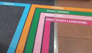 Sticker d'orientation à destination des admissibles - © Marine Dessaux