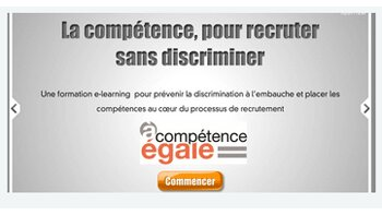Quand le e-learning apprend à recruter sans discriminer… - D.R.