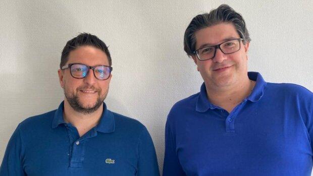 Frédéric Ibanez et Nicolas Fratini, co-fondateurs du réseau - © D.R.
