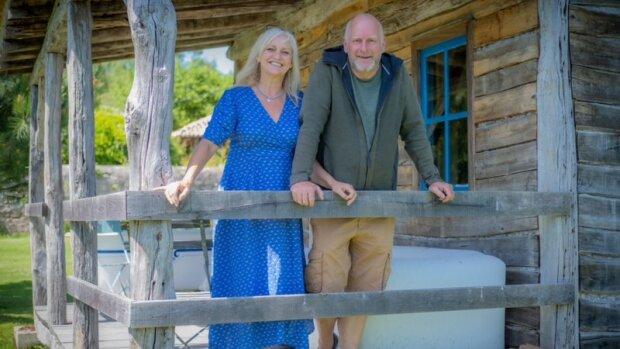 Trevor Leggett, le fondateur de l'entreprise, et son épouse, Joanna, en charge du pôle marketing