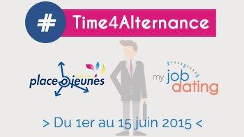 Myjobdating et placeOjeunes organisent le premier jobdating online destiné aux alternants - D.R.