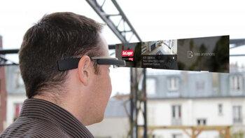 SeLoger lance sa propre application Google Glass - © D.R.