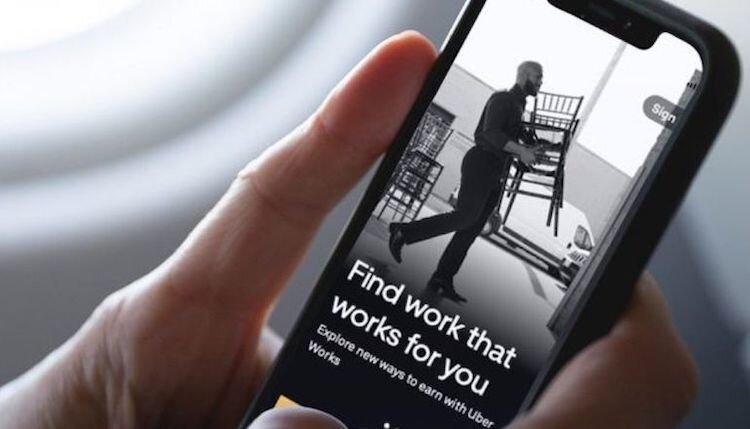 Avec «Works», Uber se lance dans l'intérim - DR