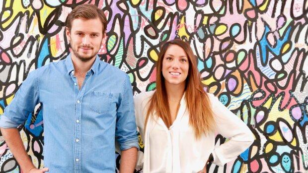 Thomas Sadoul et Chine Welsch, cofondateurs de Cocoon-Immo - © D.R.