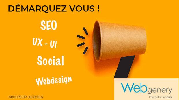 Webgenery, le spécialiste de la communication digitale pour les professionnels de l'immobilier - © D.R.