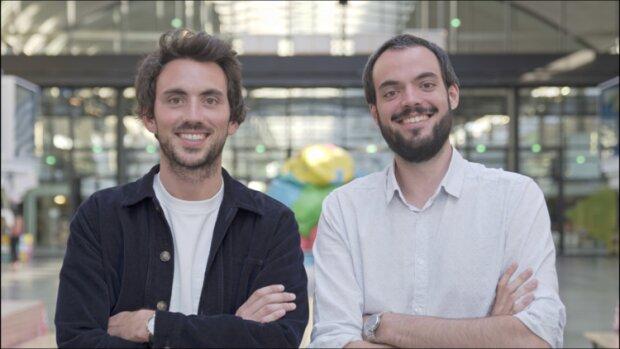 Adrien Laurentin et Kévin Rouvière, cofondateurs de Mercateam, boucle leur première levée de fonds. - © D.R.