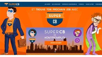 SuperCB, l'opération marketing décalée de CareerBuilder - D.R.