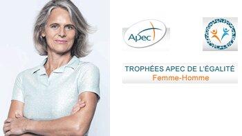 «En participant aux Trophées de l'APEC, je souhaite encourager ceux qui portent le message d'égalité hommes-femmes», Hélène Boulet-Supau, Sarenza - D.R.