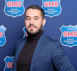 Florian Rippert est responsable marketing et communication de Sports Management School - © D.R.