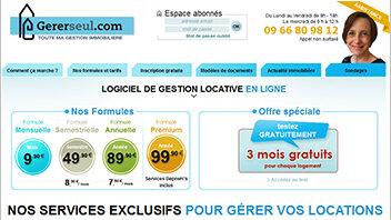 Fidélisez les propriétaires-bailleurs grâce à Gererseul.com - D.R.