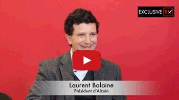 3 min avec Laurent Balaine, président d'Alcuin - D.R.
