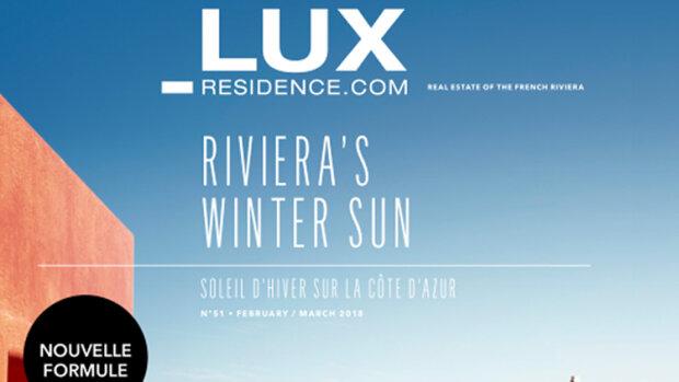 Le magazine Lux-Residence fait peau neuve - © D.R.