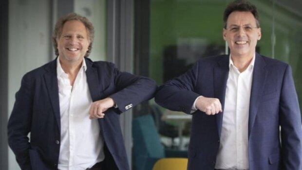 Consolidation dans le HCM: Jean-Stéphane Arcis (Talentsoft) et Pascal Houillon (Cegid) - © D.R.