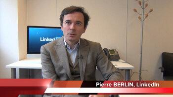 4 min 30 avec Pierre Berlin, directeur des solutions de recrutement Europe du Sud, LinkedIn - D.R.