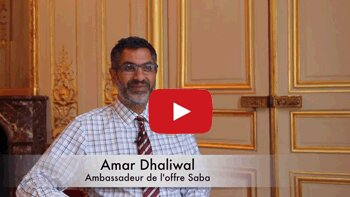 4 min 30 avec Amar Dhaliwal, ambassadeur de l'offre Saba - D.R.