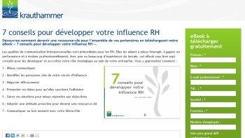 5 pistes pour développer votre influence RH - © D.R.