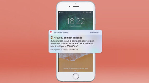 SeLoger annonce 3 nouveautés, dont un espace professionnel sur mobile - © D.R.