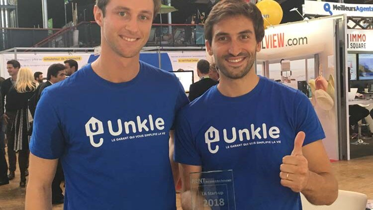 Unkle remporte le trophée de la start-up RENT 2018 - D.R.