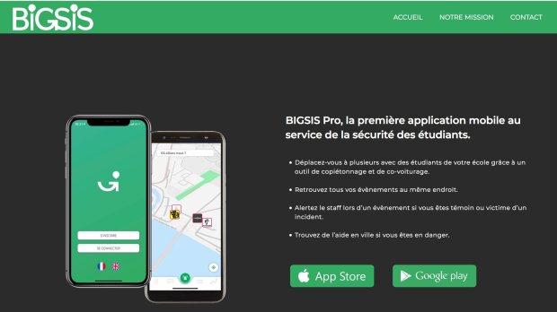 BIGSIS Pro: une application pour la sécurité des étudiants dans et hors les campus