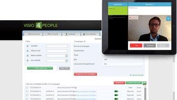 Visio4People s'enrichit de nouvelles fonctionnalités - D.R.