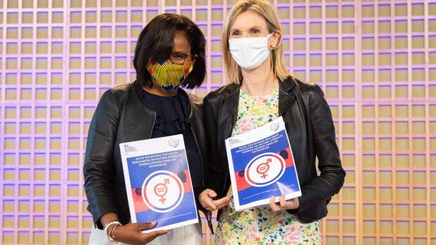 Egalité dans l'industrie: Elisabeth Moreno et Agnès Pannier-Runacher insistent sur le rôle du DRH
