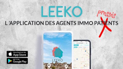 Leeko, l'application d'inter-agences pour les agents immo pressés! -