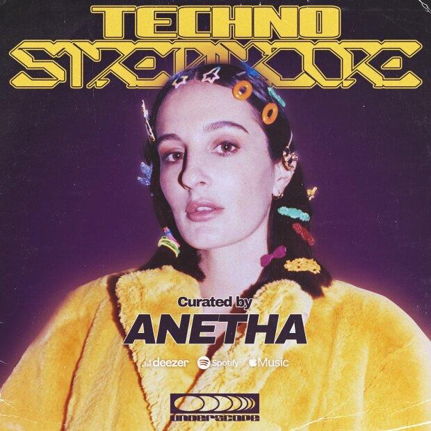Une des premières playlists diffusées par Underscope, sélectionnée par la DJ Anetha. - © D.R.