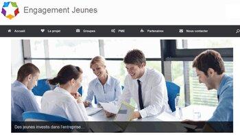 """Premier bilan prometteur pour le portail d'échange d'alternants """" Engagement-Jeunes """" - D.R."""