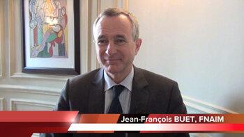 4 min 30 avec Jean-François Buet, Président de la FNAIM - D.R.