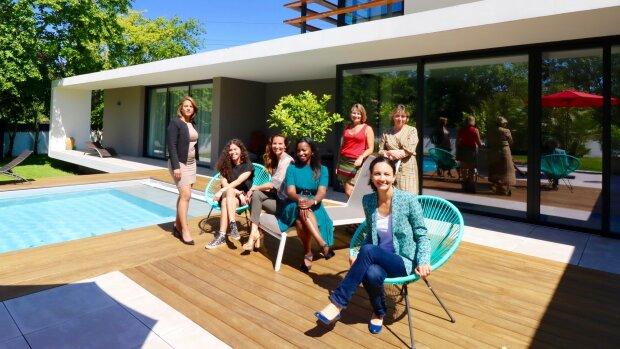 L'équipe de l'agence immobilière Les Villas - © D.R.