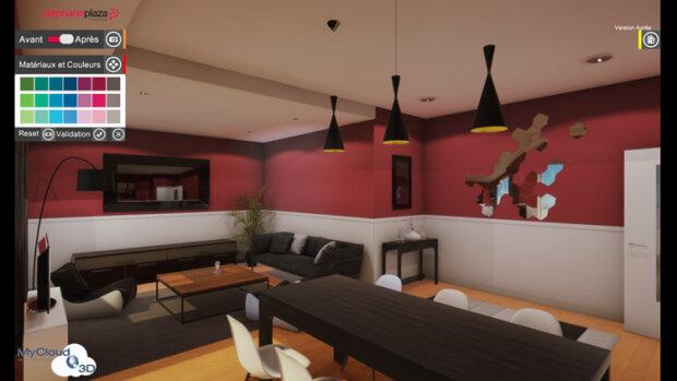 Stéphane Plaza Immobilier choisit MyCloud3D pour la conception de ses visites 3D - © D.R.