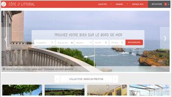 Côte & Littoral: un site de niche avec une tarification à la performance - © D.R.