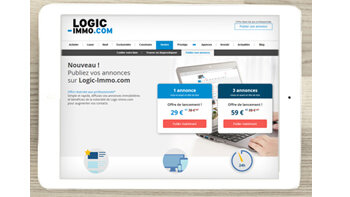 Logic-Immo.com dédie une offre aux petites agences - © D.R.