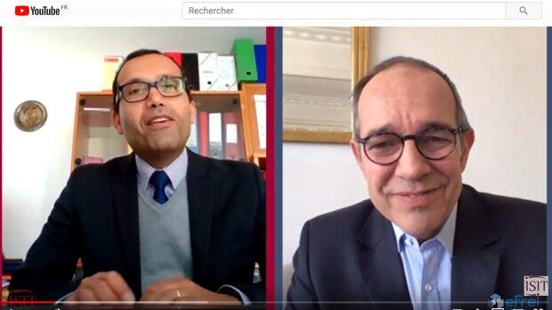 Tamym Abdessemed, ISIT Paris et Frédéric Meunier, EFREI Paris.