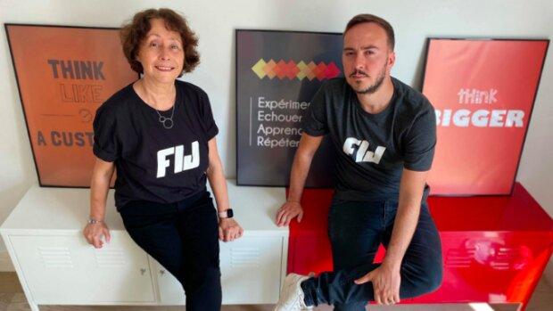 Lydie et Julien Bernady, cofondateurs de FIJ Immobilier